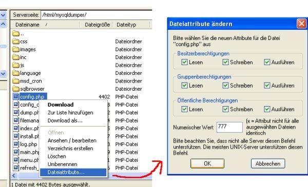 Dateirechte