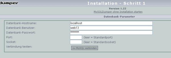 MySQL Daten eintragen